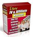Easy JV & Affiliate Manager - Powerful JV Management Software!